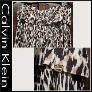 4ff61d760c698d Calvin Klein Skirts - Calvin Klein NEW Full Tilt Animal Print Maxi Skirt